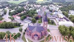 Finland above Loviisa 4K Aerial scenery    Loviisa ilmasta