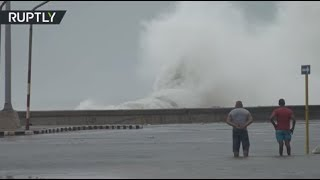 RAW: Havana flooded as Irma lashes Cuba