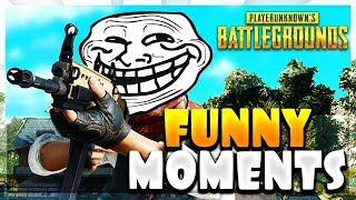PUBG Funny Moments W/Friends!!