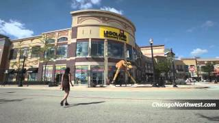 シカゴノースウェストでショッピング、ダイニング、エンターテイメント...