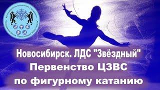 Новосибирск ЛДС Звездный Первенство ЦЗВС по фигурному катанию