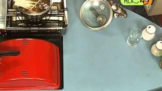 Газовый гриль: готовим суп-лапша по-восточному