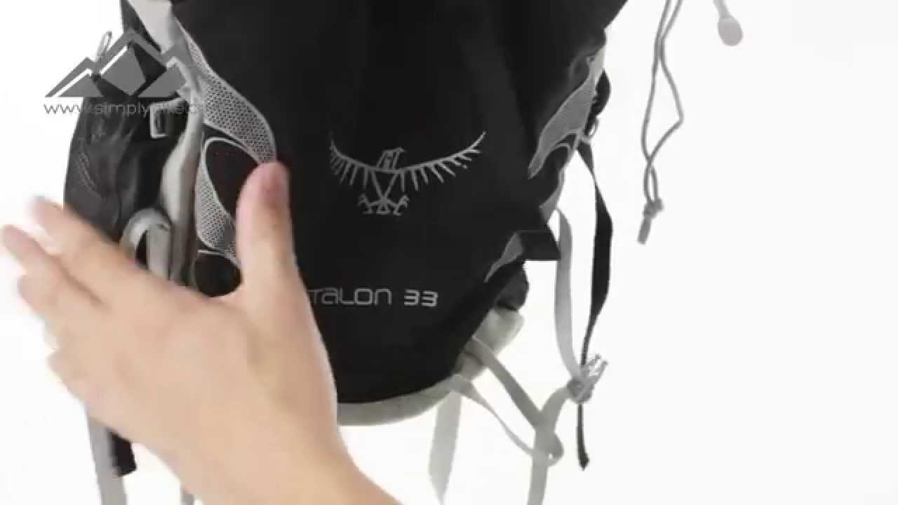 de524f9e1634 Osprey Talon 33 Rucksack Onyx Black - www.simplyhike.co.uk - YouTube