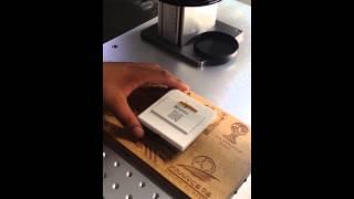 JQ UV laser marking on plastic switch