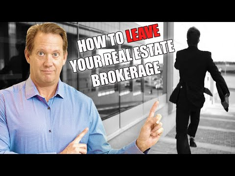 How to Leave Your RE Brokerage