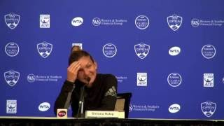 Western & Southern Open   Simona Halep On Rain Delays