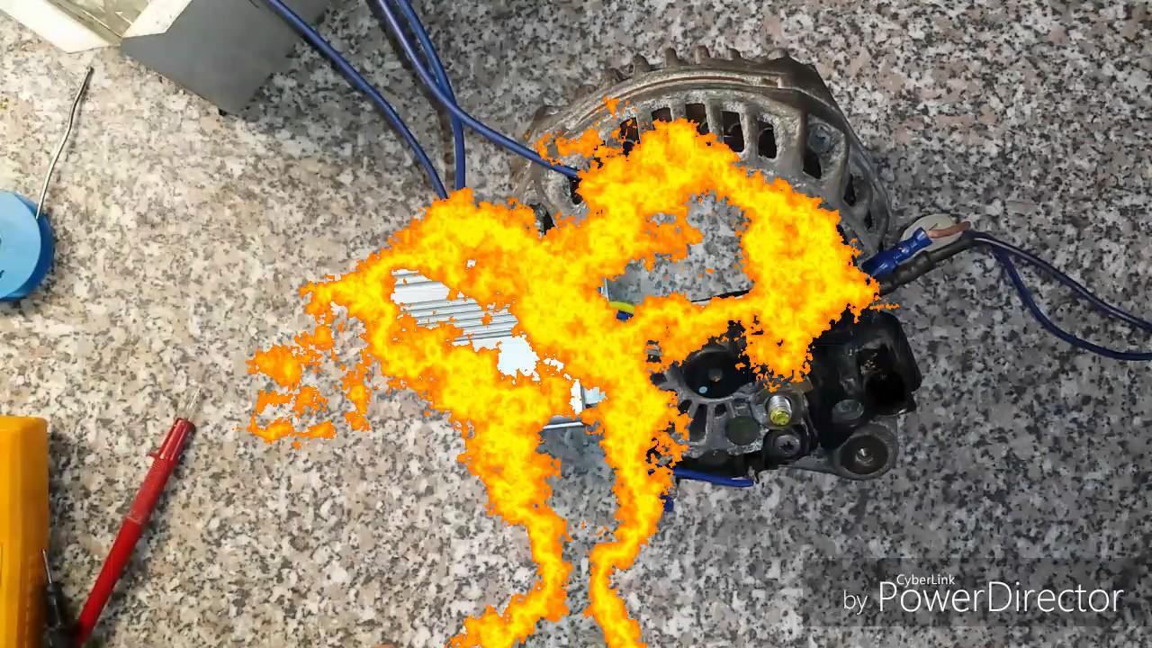 установка электро генератора на мотор двухтактный Yamaha 4 и 5 .