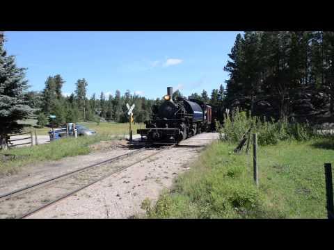 Steam Train, Hill City, South Dakota :USA 2013