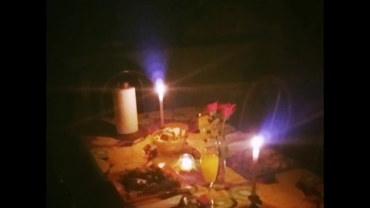 Cena romantica a la luz de la vela youtube - Cena romantica con velas ...