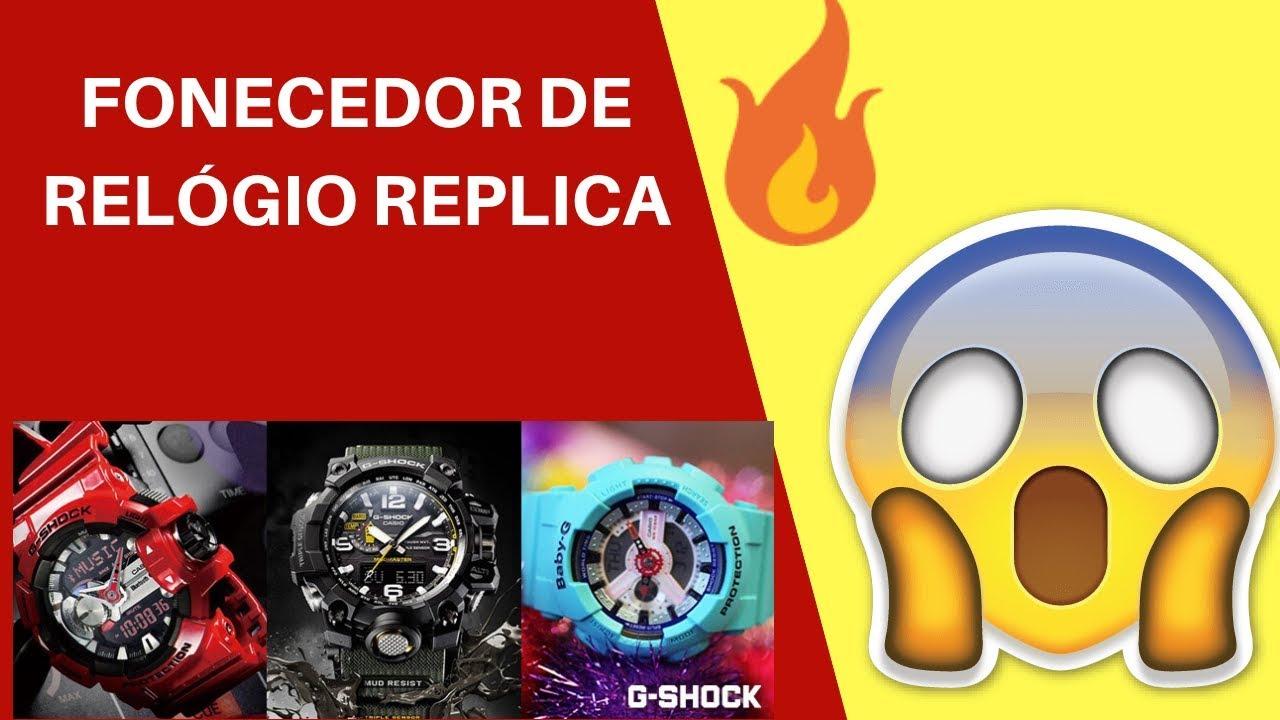 56f9f65615c Relogio g Shock Replica - 1 LINHA - YouTube