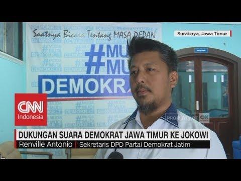 Dukungan Suara Demokrat Jawa Timur ke Jokowi