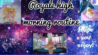 ROYALE HIGH MORNING ROUTINE! (ROBLOX).mp4