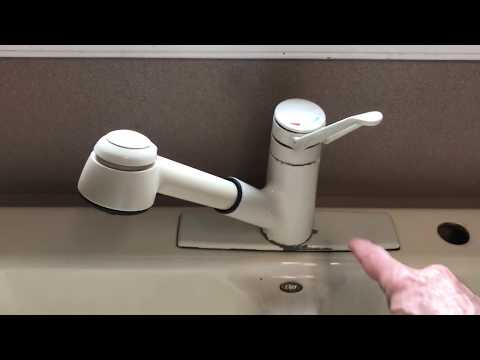 Installing A Pulldown Or Pullout Faucet With Reflex