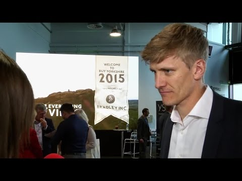 Tom Elvidge at Buy Yorkshire 2015