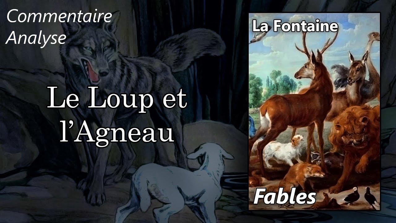 La Fontaine Fables Le Loup Et L Agneau Explication Lineaire Youtube