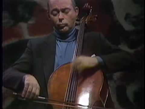 Janos Starker in Recital: Part 4 of 4.  Bartok: Rumanian Folk Dances.
