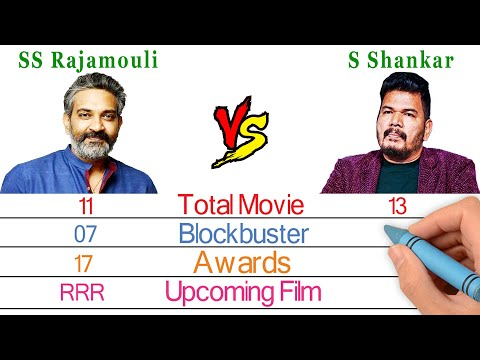 SS Rajamouli Vs S Shankar - Indian Director Comparison - Bio