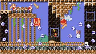 ♥ダッシュとジャンプだけよ!!走れキャサリン♪SpeedRun♥ by ゆきぃ(ゆっきぃ♪) - Super Mario Maker - No Commentary