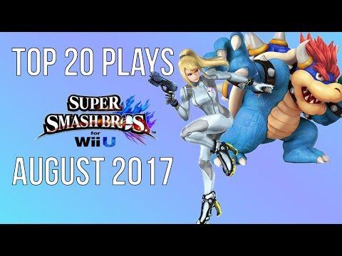 Top 20 Smash 4 Plays of August 2017 - Super Smash Bros Wii U (SSB4)