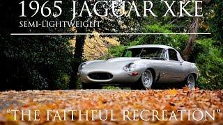 1965 Jaguar XKE Semi-Lightweight