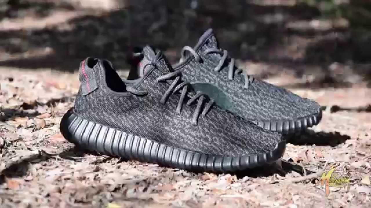 Adidas yeezy 350 impulso nero su youtube