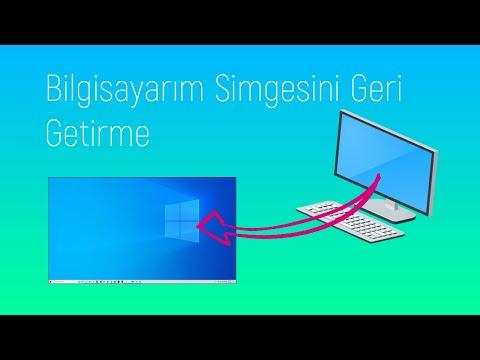 Bilgisayarım Simgesini Masaüstüne Ekleme - Geri Getirme | ExWeiv
