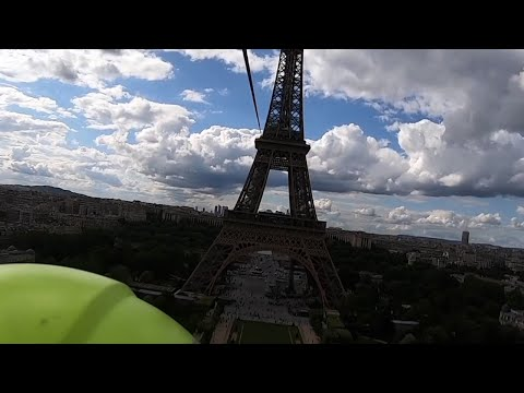 Win a Chance to Zip Line off the Eiffel Tower at 377 Feet