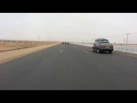 Karachi to Hyderabad Motorway (Almost completed)
