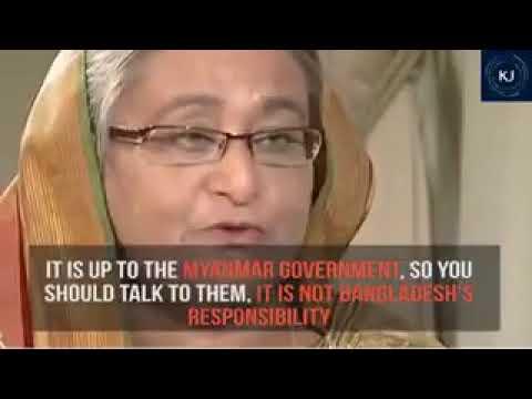 Sheikh Hasina rejects entering  rohingyan muslim in bangladesh | brutal killing | 2017