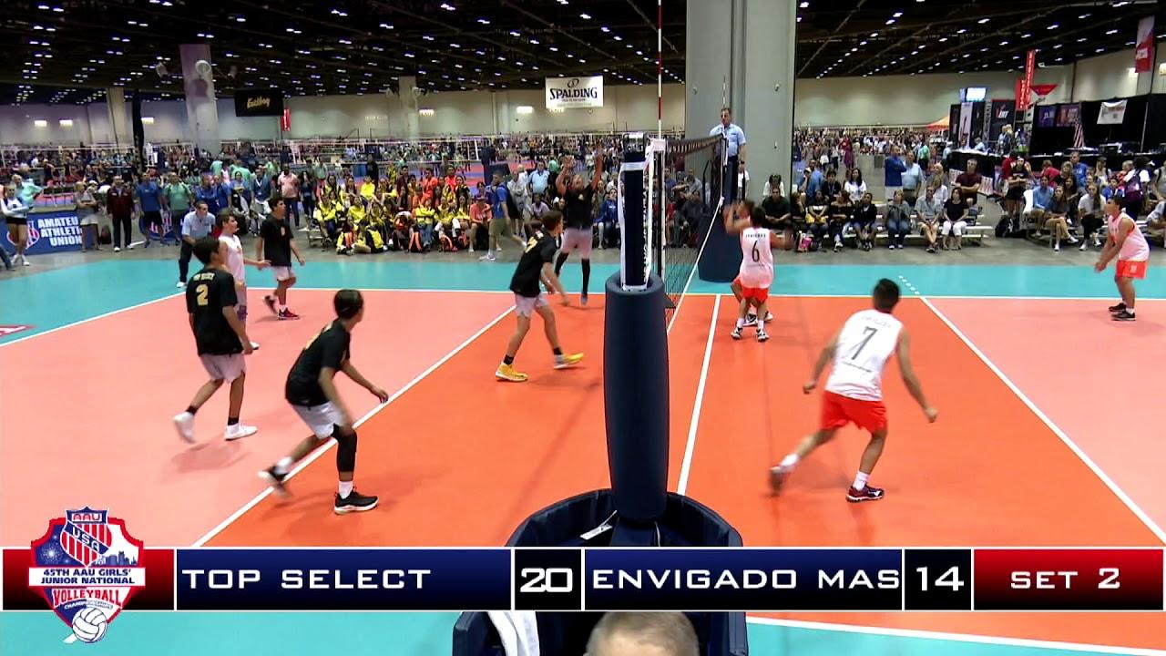 2018 Aau Volleyball Nationals 15u Boys Final Top Select 15 Royal Vs Envigado Pt2 Youtube