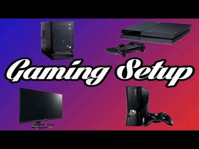 First Gaming Setup/Room Tour
