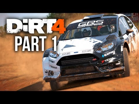 DIRT 4 Career Mode Gameplay Walkthrough Part 1 - INTRO (Full Game)
