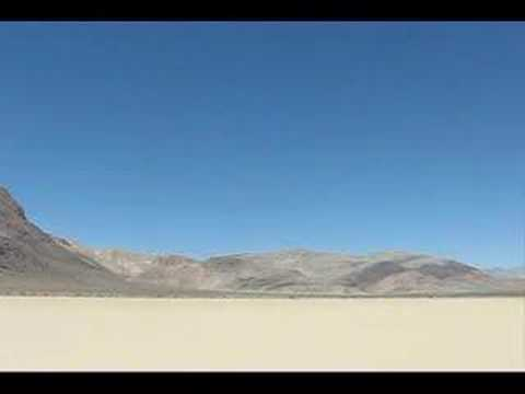 The racetrack playa at death valley NP