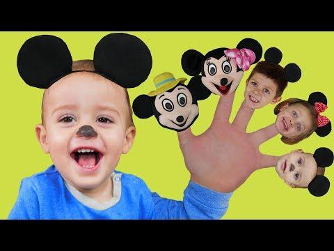 Canción de La Familia Dedo   Canciones Infantiles Populares En Español
