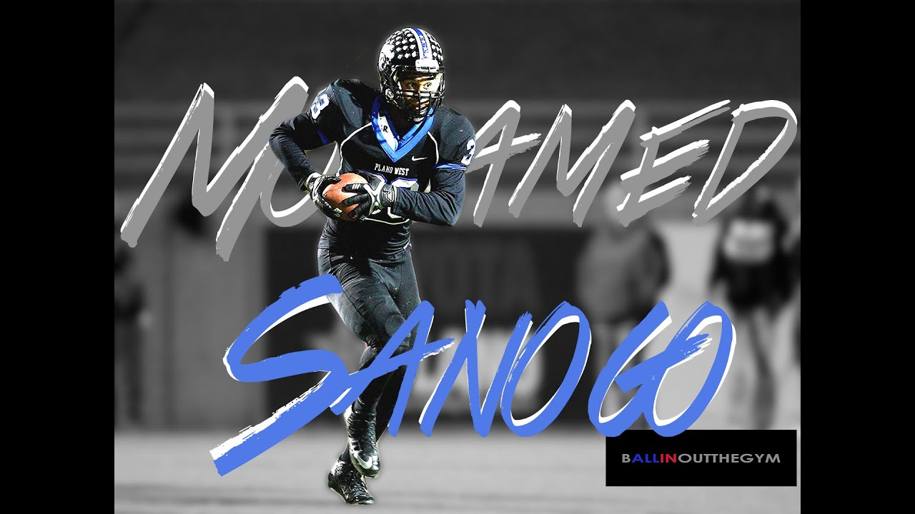 Mohamed Sanogo : One Of The Best Sophomore LBs In Texas (Plano West) (2014  Football Highlights)