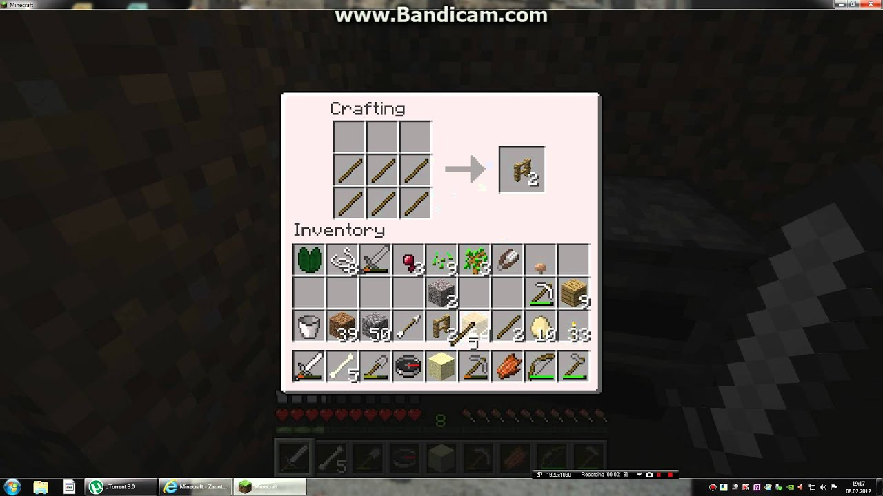 Minecraft Zaun Craften YouTube
