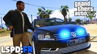 GTA 5 LSPD:FR - ZIVILPOLIZEI im EINSATZ! - Deutsch - Polizei Mod #33 - Grand Theft Auto V