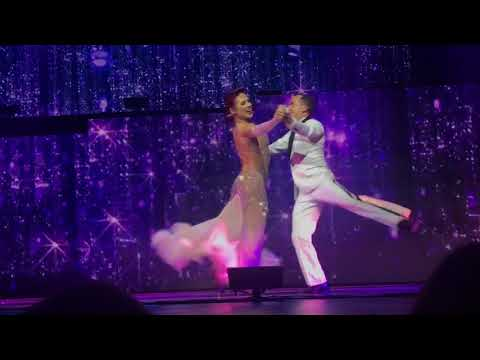 DWTS Live Tour Light Up Your Night, Lancaster PA- Sharna & Frankie to Frank Sinatra I won't dance