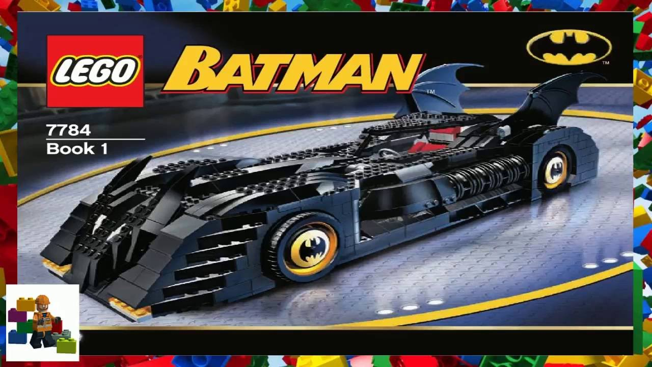 Lego Instructions Batman Ultimate Collectors Edi 7784 Book