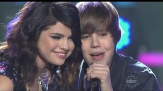 Justin Bieber  Singing To Selena Gomez On Stage   One Less Lonely Girl HD  1080p
