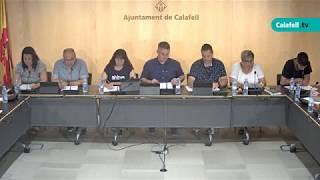 Ajuntament de Calafell: Sessió plenària extraordinària, 27 de juny de 2019