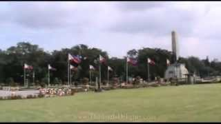 Rizal Park or Luneta Park, Manila, Philippines.