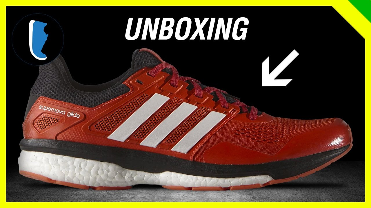 adidas Supernova Glide Boost 8 (Unboxing) - YouTube