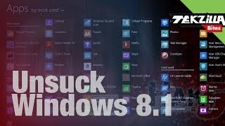 Fix Windows 8.1 Annoyances