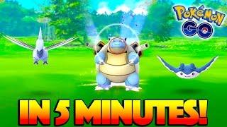 WILD BLASTOISE, SKARMORY, & MORE IN 5 MINUTES! The NEW Bay Area Pokemon Go Hunting Ground!