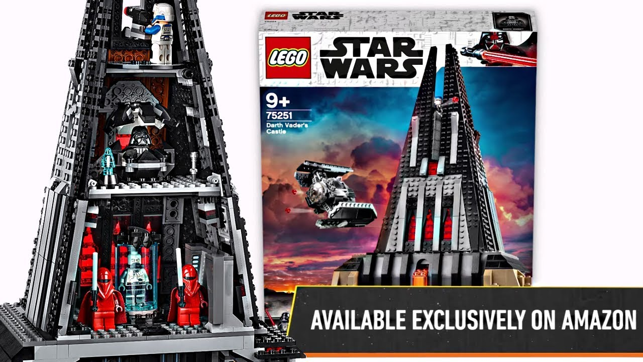 Lego Star Wars 2019 Darth Vaders Castle Yes This Is Real Youtube