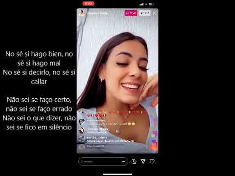 "Download Sabina Hidalgo sings ""Te Creo"" (Violetta, lyrics in Spanish and subtitles in English and Portuguese)"