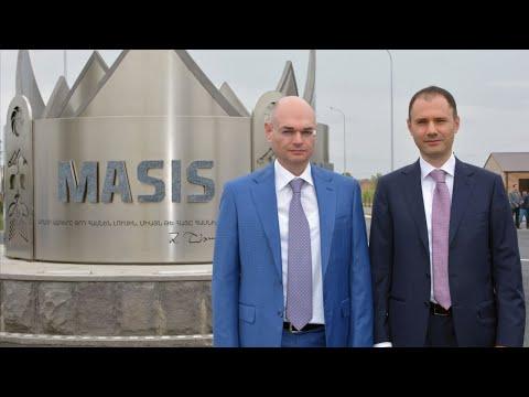 Բարերարներ Միքայել և Կարեն Վարդանյանների՝ 920 մլն դրամի բարեգործական ծրագիրը Մասիս քաղաքում