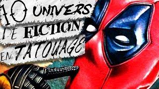 10 Univers de Fiction en Tatouage !