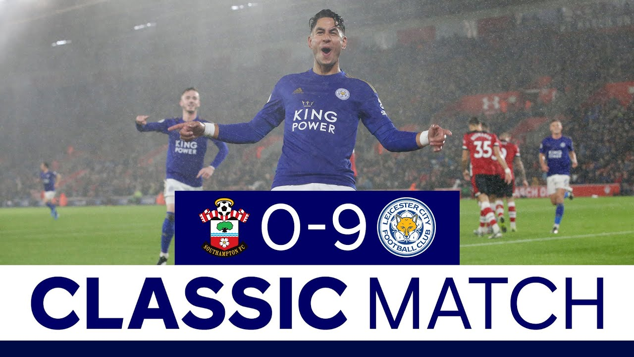 Foxes Make History At St Mary S Stadium Southampton 0 Leicester City 9 2020 21 Youtube